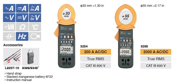 clamp meter acdc