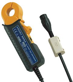 Hioki 9695-03 Clamp-On Sensor with Connection Cord 100A AC Current